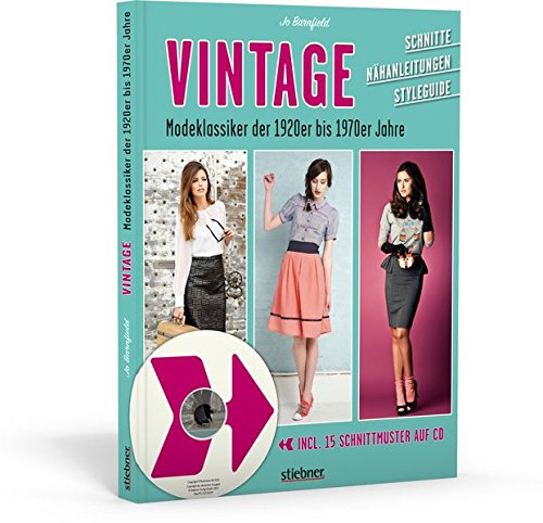 Vintage - Modeklassiker der 1920er bis 1970er Jahre - Schnitte ...