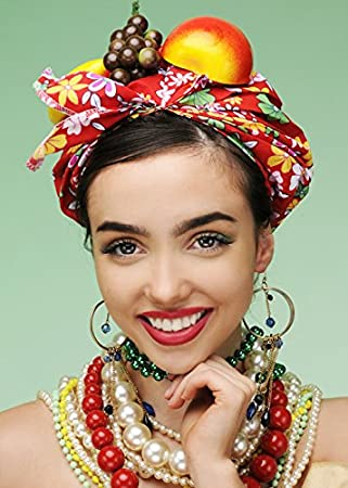 96d58297526 MagicBox Carmen Miranda Style Bright Showgirl Fruit Hat  Amazon.co.uk  Toys    Games