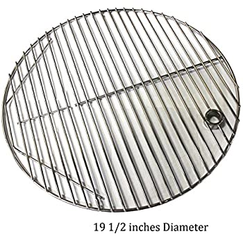 Amazon Com Hongso Scg195 19 5 Quot Bbq Stainless Steel Round