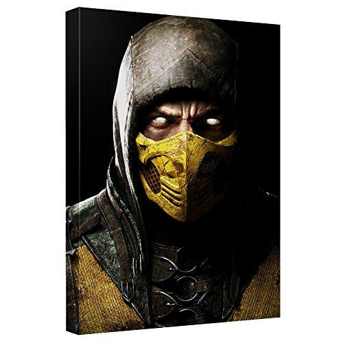 Scorpion -- Mortal Kombat -- Stretched Canvas Framed Artwrap, 8x12