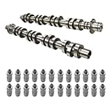 BETTERCLOUD Left & Right Camshafts W/Valve Lifters Lash Adjusters Fit for 2005-2014 Ford Mercury Expedition Lincoln Navigator 4.6L 5.4L