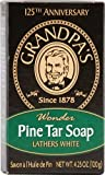 Grandpa's Soap Pine Tar Bar Soap - Large 4.25 Oz Case Pack of 25