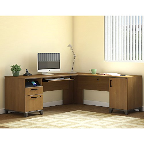 Achieve L Shaped Desk by Bush Furniture