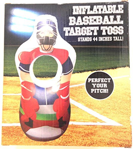 - Five Below Inflatable Baseball Target Toss 44 Inches Tall