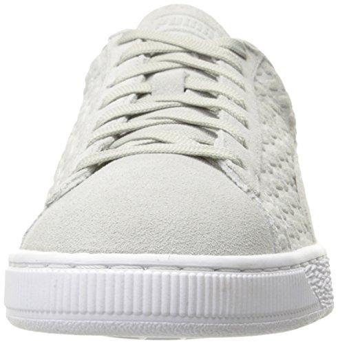 Sneaker da uomo Classic Emboss V2 Fashion, grigio violetto, 10,5 M US
