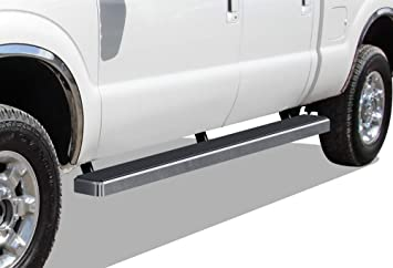 Nerf Bars Side Steps Side Bars APS iBoard Running Boards 4 inches Custom Fit 1999-2016 Ford F250 F350 Super Duty Super Cab