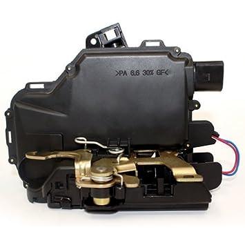 Baode Motor de Nivelación Cerradura Central para Puerta Trasera Derecha para Volkswagen Golf IV Passat B5: Amazon.es: Coche y moto