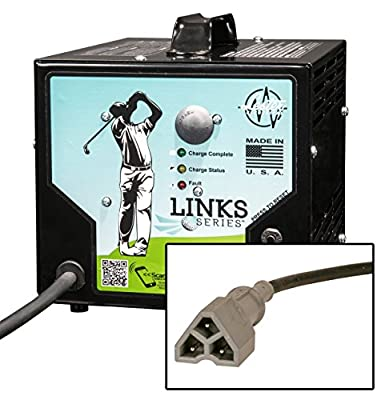 48V 13A Golf Cart Battery Charger EZGO RXV TXT Powerwise 3 pin