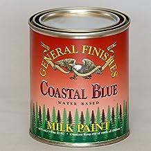 General Finishes PCB Milk Paint, 1 pint, Coastal Blue