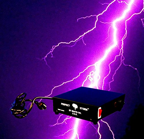 DJ Special Effects PERFECT STORM Thunder Sounds Lights Controller Halloween -