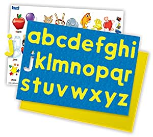 Lauri Crepe Rubber Puzzles - A to Z Lowercase