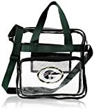 Forever Collectibles NFL Football Team Logo High End See Thru Clear Messenger Bag