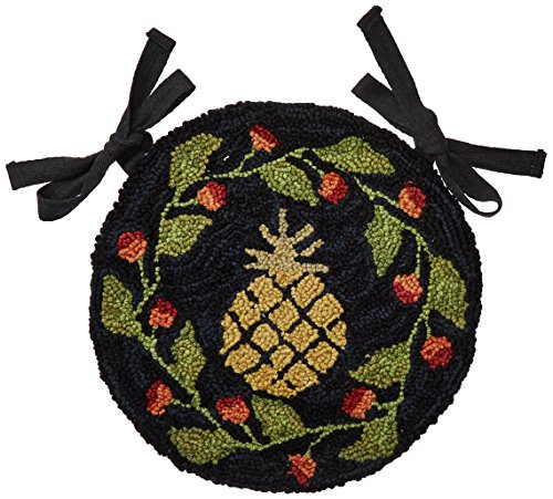 Park Designs Pineapple Hooked Chair Pad