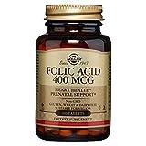 Solgar - Folic Acid 400 mcg, 250 Tablets - 2 Pack