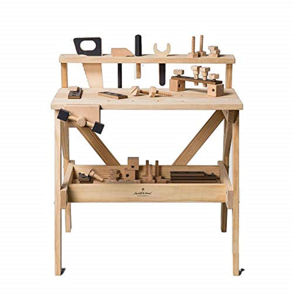 Wooden Toy Tool Bench (38pc) - Hearth & Hand with Magnolia by Hearth & Hand with Magnolia (Image #1)