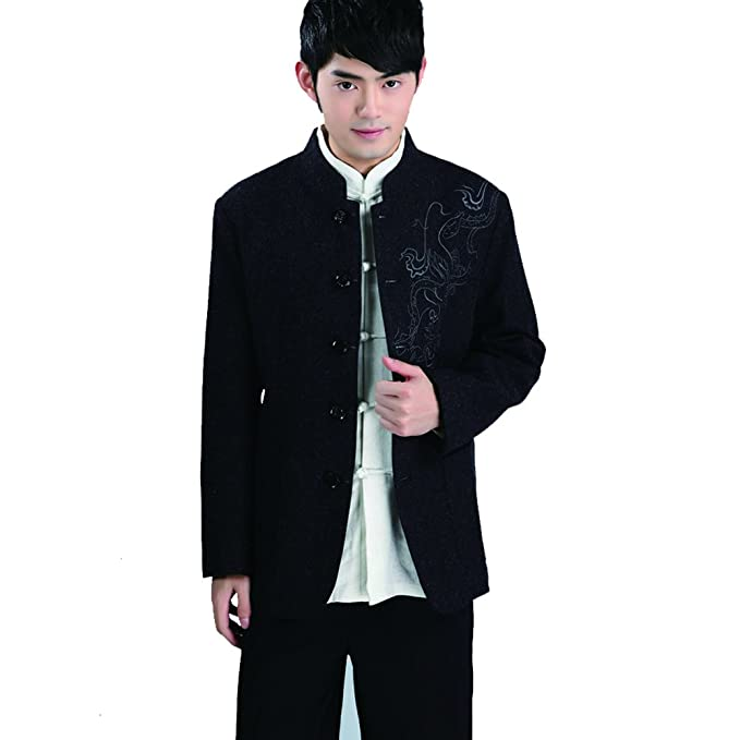 Amazon.com: fangner para hombre chino tradicional uniforme ...