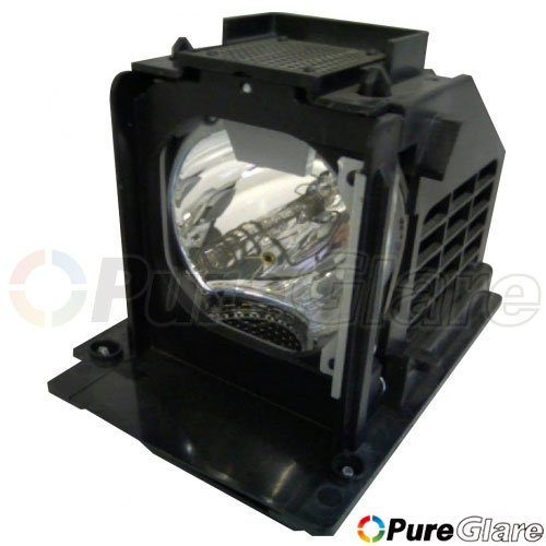 Comoze lamp for mitsubishi wd73640 tv with housing