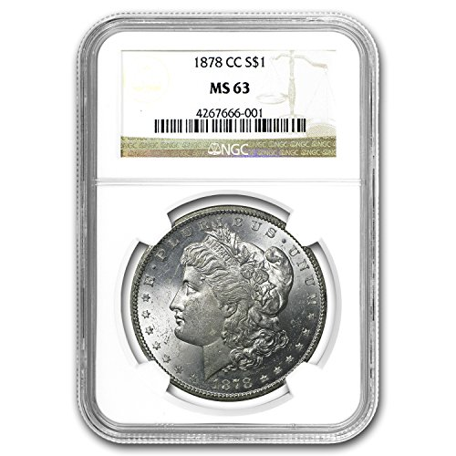 (1878 CC Morgan Dollar MS-63 NGC $1 MS-63 NGC)