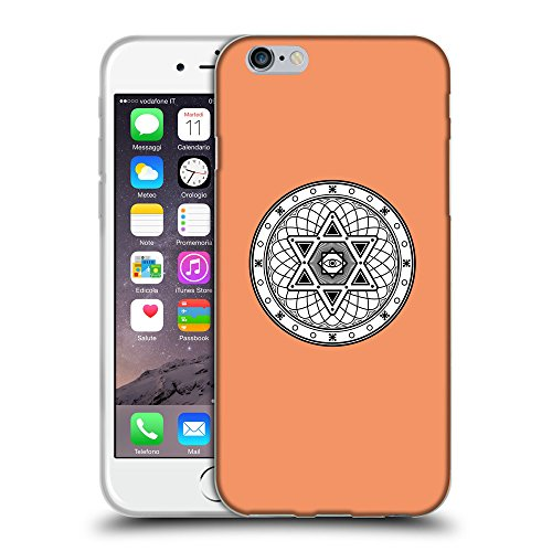 GoGoMobile Coque de Protection TPU Silicone Case pour // Q09680607 Mystique occulte 17 Mandarine // Apple iPhone 6 PLUS 5.5""