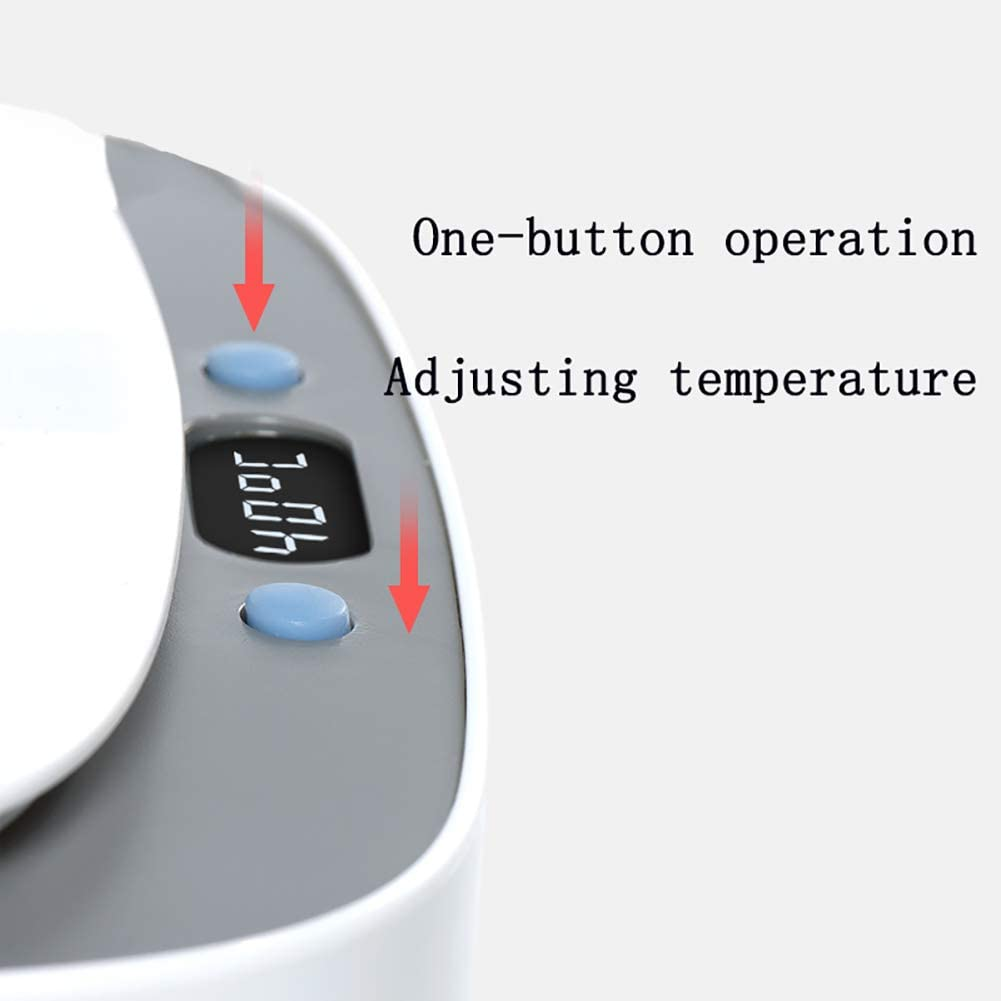 YZJJ Chauffe-lingettes Wipes Warmer Chauffe-lingettes pour b/éb/é conteneur disolant pour bo/îte Chauffage lingettes Portables pour m/énage