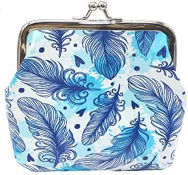 Wobuoke Girls Printing Flower Snacks Coin Purse Wallet Bag Kiss Lock Change  Pouch Key Holder Clearance 46d68fb751edc