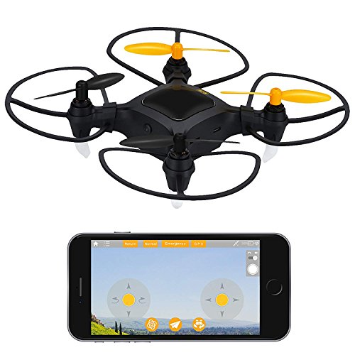 Nano Drone with Camera Live Video 1080p HD Mini Camera Drone with GPS for Beginners Outdoor or Indoor Drone Quadcopter (Certified Refurbished)