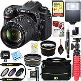 Nikon D7500 20.9MP DX-Format Digital SLR Camera + AF-S 18-140mm f/3.5-5.6G ED VR Lens + Accessory Bundle
