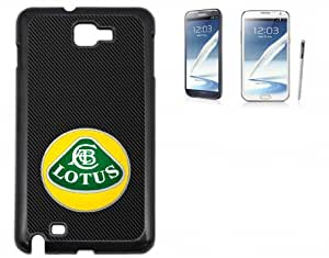 Samsung Galaxy Note 2 Hard Case with Printed Design Lotus