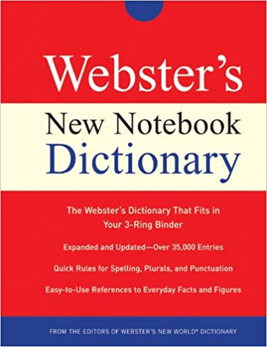 Websters New World Notebook Dictionary