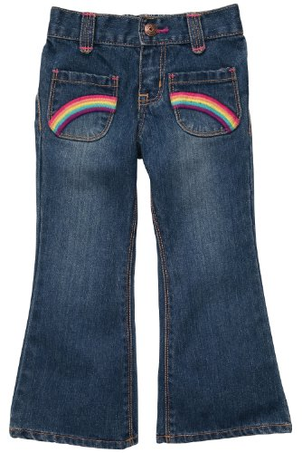 Price comparison product image OshKosh B'Gosh Denim Pants w / Embroidery - Heartland Blue-12M