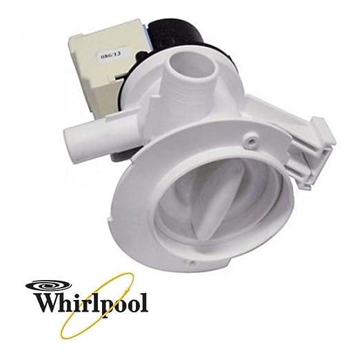 Bomba lavadora descarga agua Whirlpool Ignis carga desde el otro ...