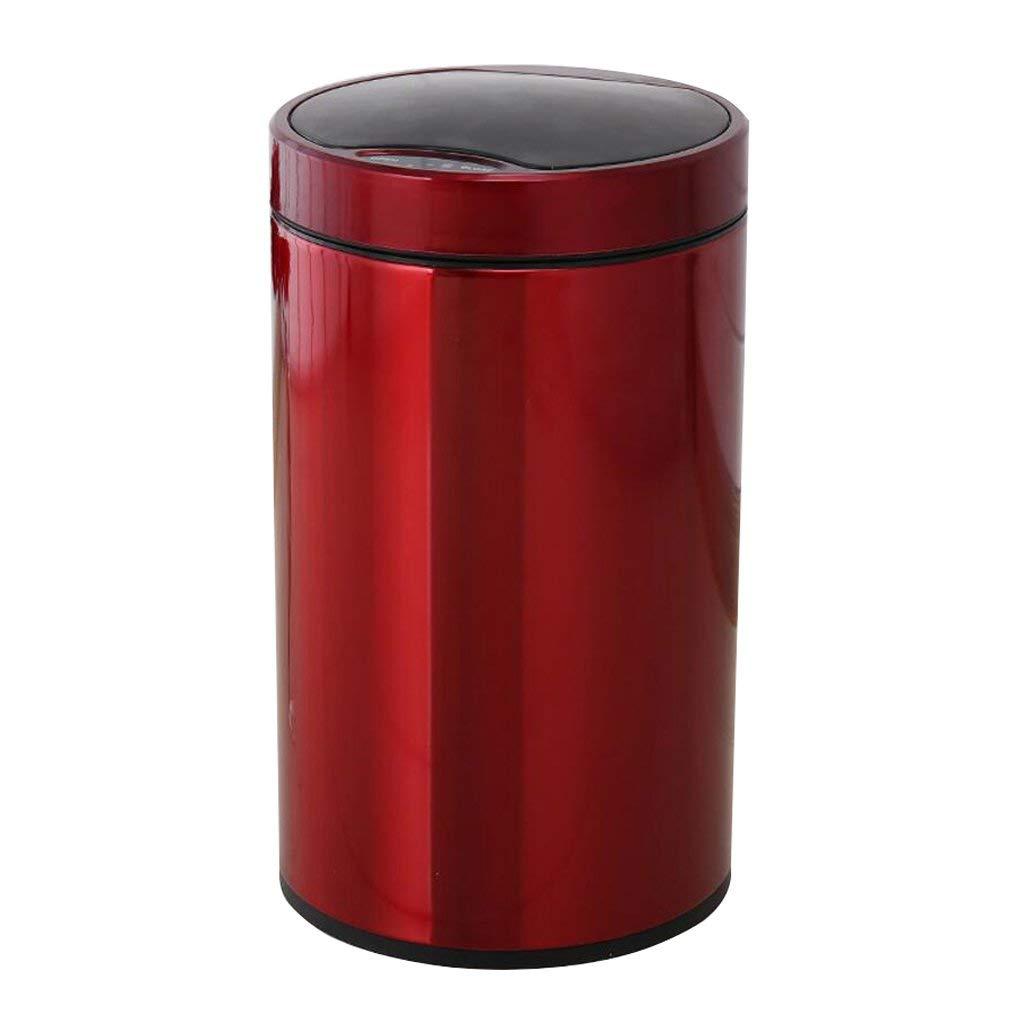 再利用可能なゴミ箱 屋内環境ゴミ箱インテリジェント誘導ゴミ箱、ホームリビングルームベッドルームキッチンふた付きバスルーム (サイズ : 12L) 12L  B07SWXLPTT