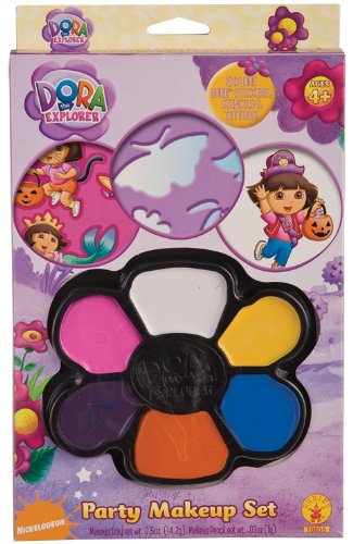 Dora The Explorer Costume Rental (Rubies Dora The Explorer Party Face Painting Kit)