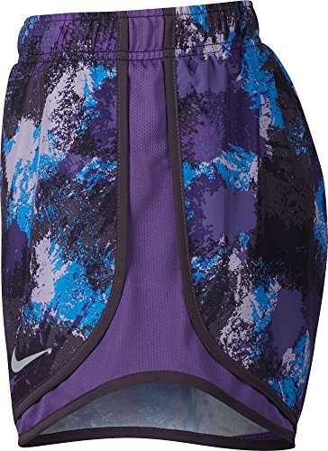Women's Dark NIKE Raisin Short Tempo 4FxYUS