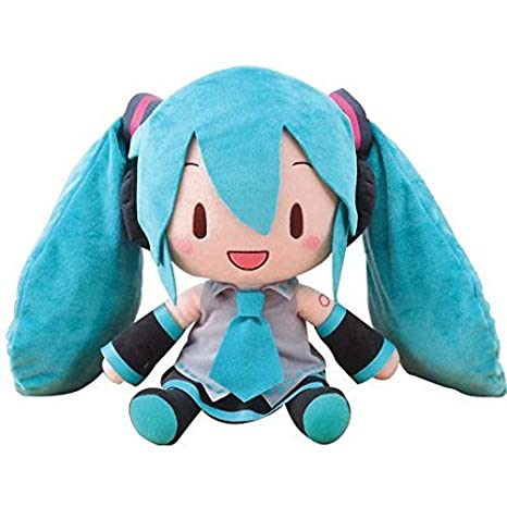 Sega Vocaloid Hatsune Miku SNOW 2018 Special Fluffy Plush Doll Toy US SELLER