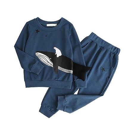 Regard Natral Juego de 2 Pantalones de chándal para niños y niñas ...