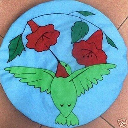 Satellite Dish Cover Wrap - Hummingbird Design (Dish Cover Satellite)