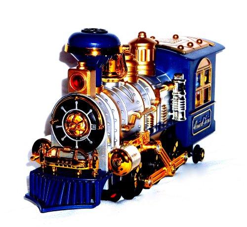 Spielzeug Eisenbahn Lokomotive Lok Train Zug mit Qualm / Rauch Funktion