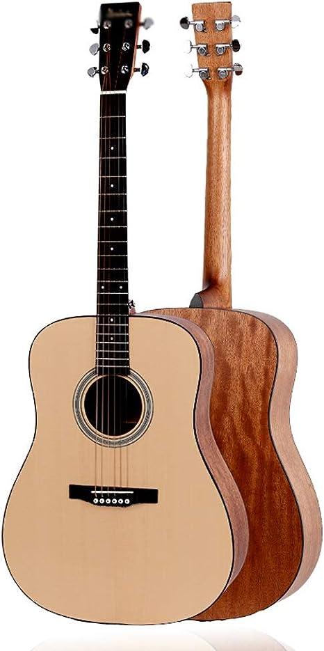 Loivrn Guitarra de cuerda de nylon de 6 cuerdas Guitarra clásica ...