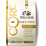Wellness CORE Grain Free Indoor Chicken & Turkey Natural Dry Cat Food, 12-Pound Bag