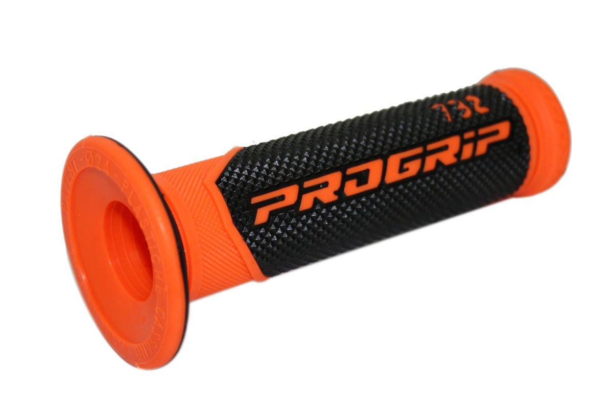 Arancione//Nero 732Orbk Pro Grip Superbike 732 Duo Road Impugnatura Densit/à
