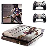 Caitlyn the sheriff of piltover ps4 skin decal for console and 2 controllers