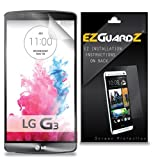 (6-Pack) EZGuardZ Screen Protector for LG G3 (Ultra Clear)