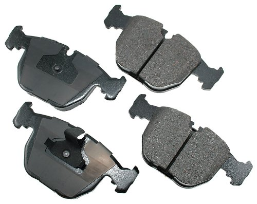 2000 X5 Bmw Brake - Akebono EUR681 EURO Ultra-Premium Ceramic Brake Pad Set