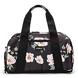 Vooray Burner 16'' Compact Gym Bag with Shoe Pocket (Rose Black)