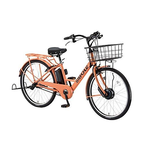 ブリヂストン(BRIDGESTONE) 18年モデル ステップクルーズ ST6B48 26インチ 電動アシスト自転車 専用充電器付 B075ZR38Z1 E.Xサニーピンク E.Xサニーピンク