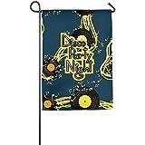 Krui-LR Garden Flag - Custom Music Flyer to Disco Party Night Yard Flag 12 X 18 Inches