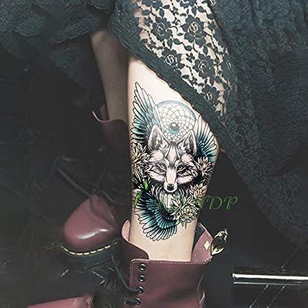5pcs Tatuaje Impermeable Lobos Etiqueta Jon Lobo de la Nieve ...