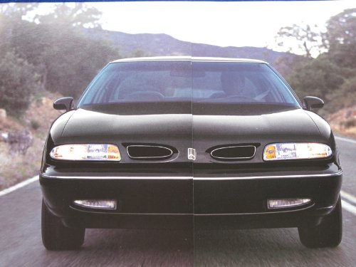 1996 OLDSMOBILE FULL-LINE COLOR SALES BROCHURE: LSS, EIGHTY-EIGHT, NINETY-EIGHT, CUTLASS SUPREME, ACHIEVA, CIERA & SILHOUETTE - 8/95 - USA - EXCELLENT (Oldsmobile Full Line Sales Brochure)