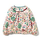 Dhasiue Kid & Toddler T-Shirts Boys Girls Tops Tees Cotton Crewneck Cute Embroidery Sweatshirts